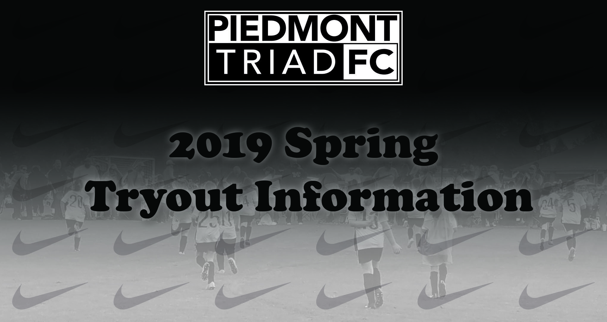 2019 Spring Tryout Information