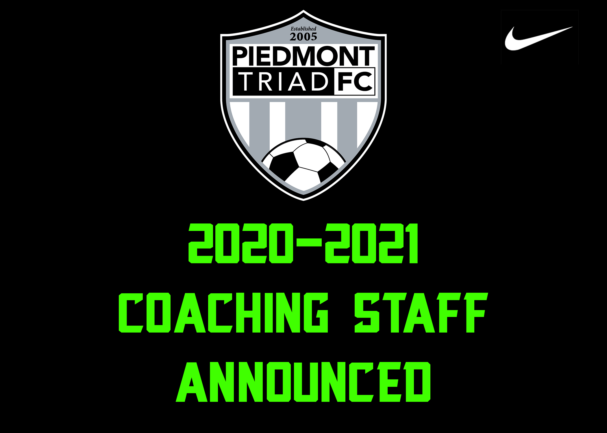 2020-2021 Coaching Staff Announced