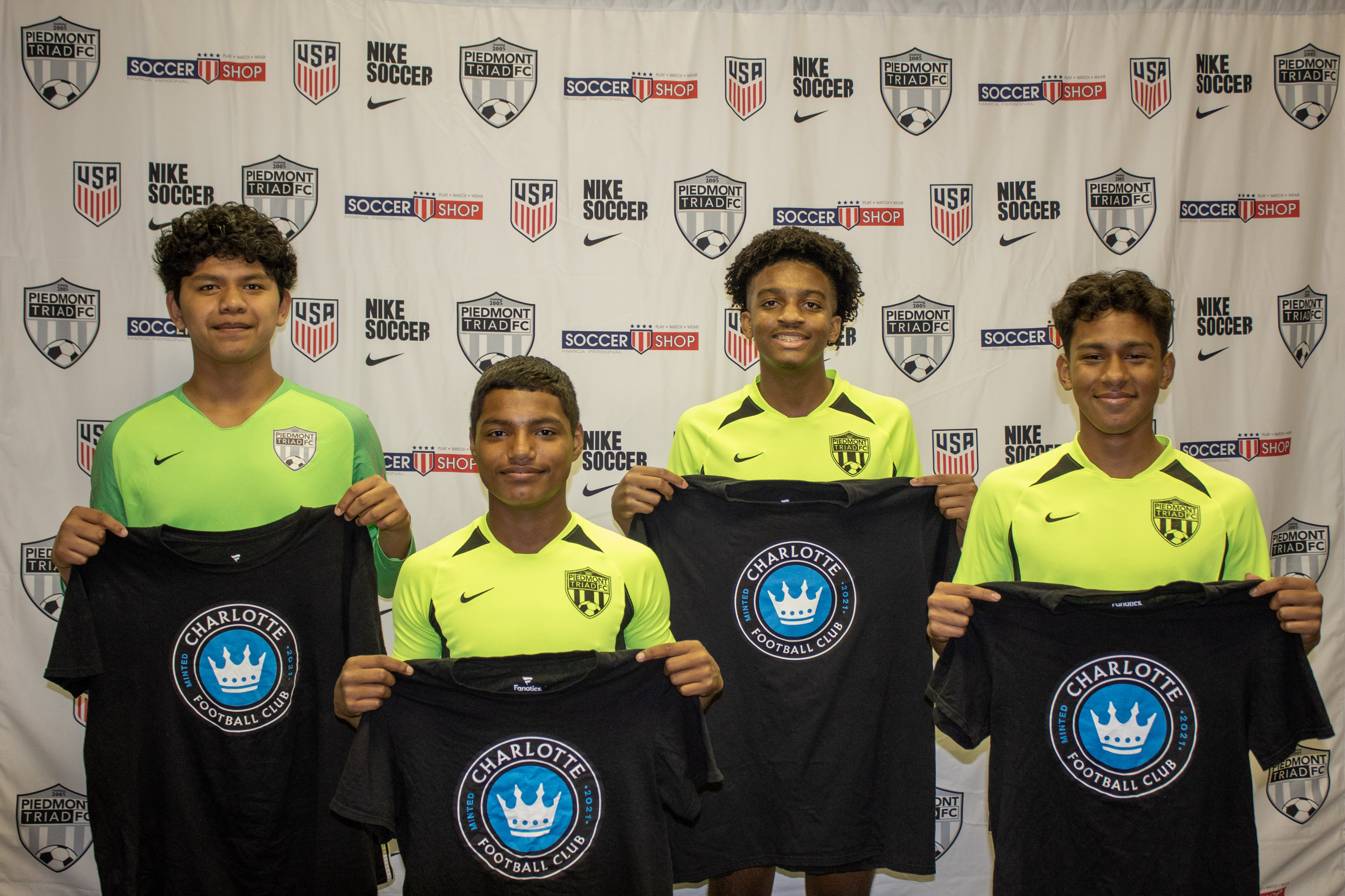 Four 07 Black Players go on trial with Charlotte FC