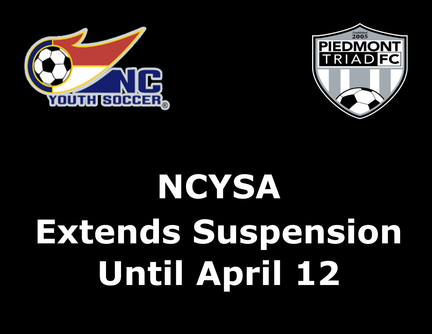 NCYSA Extends Suspension