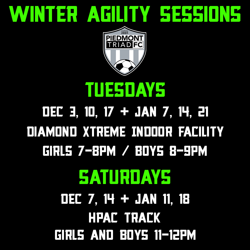 Winter Agility Sessions Announced